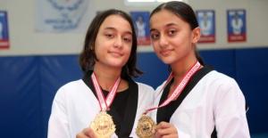 Tekvandonun şampiyon ikizleri, gözünü Avrupa'ya dikti