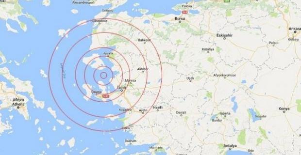Ege Denizi'nde 12 saat içinde 35 deprem