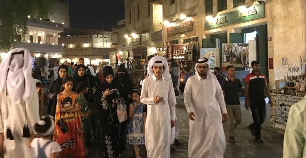 Katar halkı kızgın ama gelecekten endişeli değil