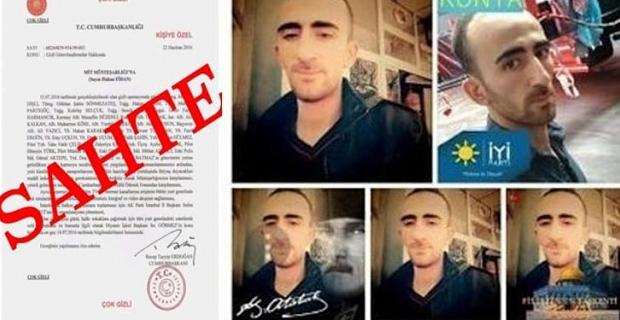 Sahte belgeyle iftira atan İzzet Aşkar gözaltına alındı
