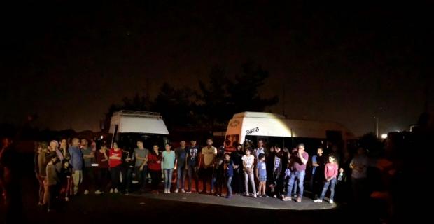 Adana'da 50 yabancı uyruklu yakalandı