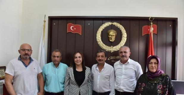AK Parti Mersin Milletvekili Yılmaz'dan, MGC'ye ziyaret
