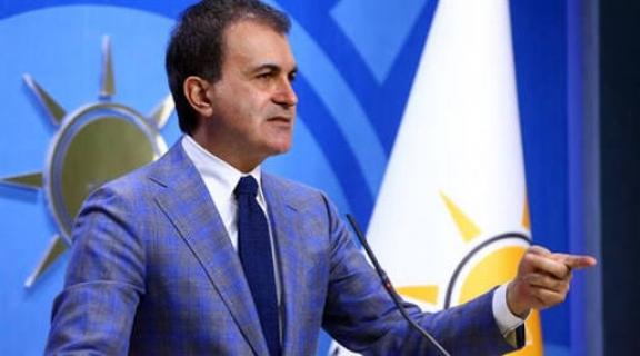 """AK Parti Sözcüsü Ömer Çelik: (ABD'nin Ankara Büyükelçiliğine ateş açılması) Bir can kaybı veya yaralanma yok. Bu, açık bir provokasyondur."""""""