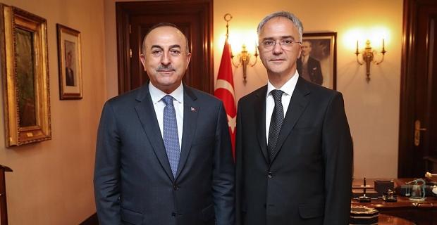 Çavuşoğlu-Dacic ortak basın toplantısı