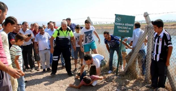 Kahramanmaraş'ta sulama kanalına düşen çocuk öldü