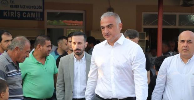Kültür ve Turizm Bakanı Ersoy Antalya'da