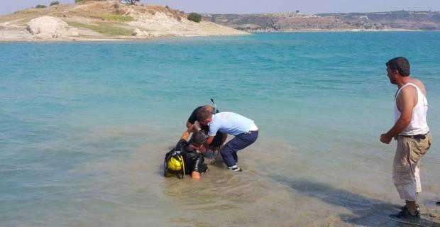 Mersin'de baraj gölüne giren çocuk boğuldu
