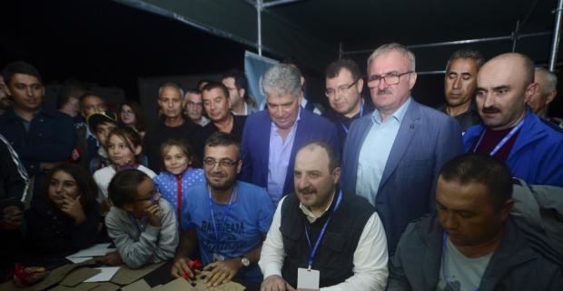 Sanayi ve Teknoloji Bakanı Mustafa Varank, Antalya'da
