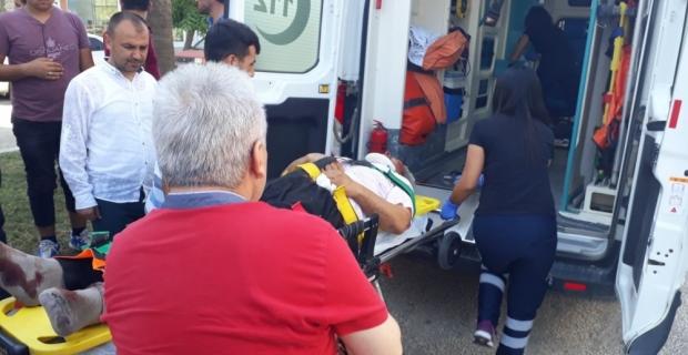 Adana'da trafik kazası: 1 ölü,1 yaralı