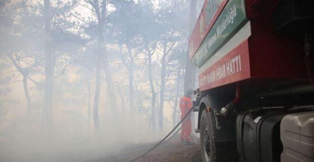 GÜNCELLEME 4 - Hatay'da orman yangını