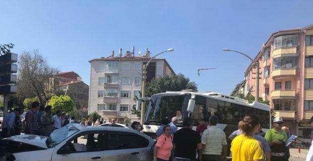 Isparta'da trafik kazası: 9 yaralı