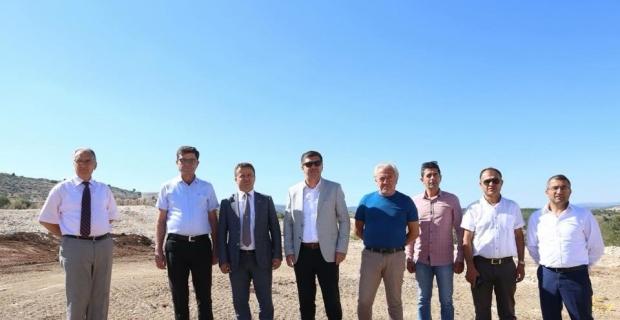 Karamanlı'ya atık bertaraf tesisi ara toplama istasyonu