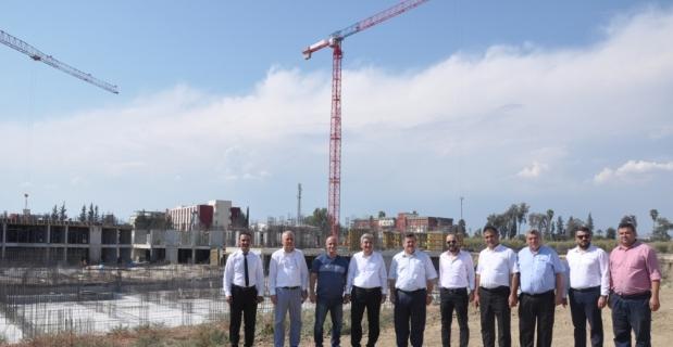 Tarsus Devlet Hastanesi inşaatı