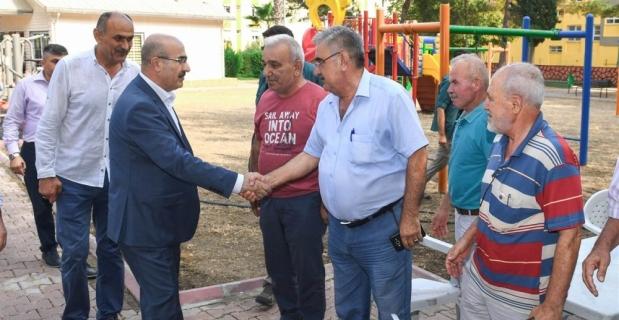 Vali Demirtaş, vatandaşlarla bir araya geldi