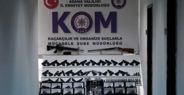 Adana ve Gaziantep'te silah kaçakçılığı operasyonu