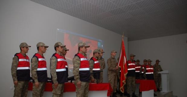 Afşin'de 15 güvenlik korucusu yemin etti