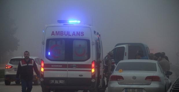 Hatay'da trafik kazası: 1 ölü