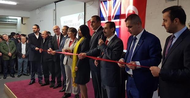İngiltere Kahramanmaraşlılar Eğitim Ve Kültür Derneği Resmi Olarak Açıldı