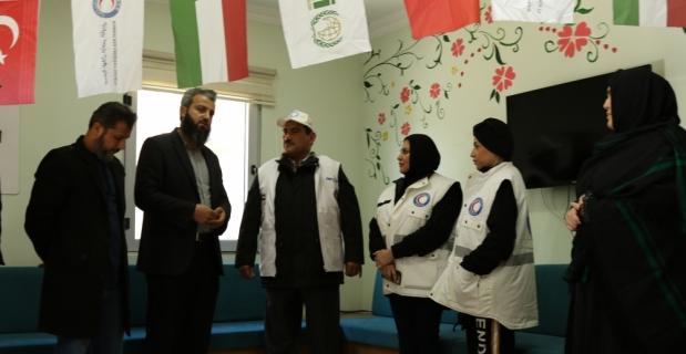 Kuveyt Kızılayından Suriyeli öğrencilere ziyaret