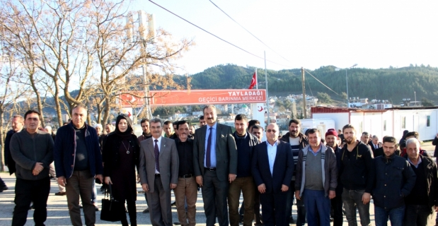 Suriye Türkmen Meclisi'nden Bayırbucak Türkmenlerine ziyaret