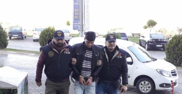 Adana'da terör örgütü YPG/PKK zanlısına tutuklama