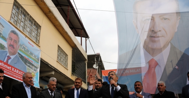 AK Parti Hassa seçim bürosu hizmete açıldı