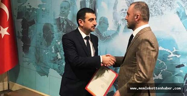 AK Parti'nin Burdur merkez ilçe başkanı belli oldu