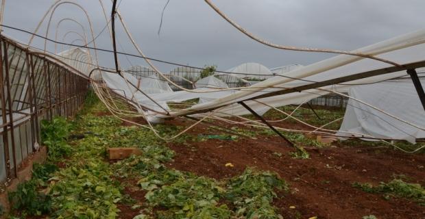 Antalya'daki hortum ve fırtına
