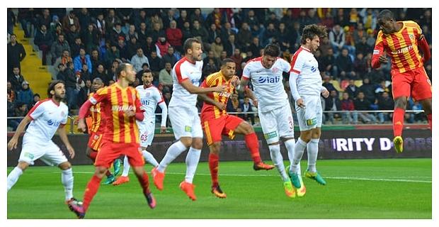 Antalyaspor, Kayserispor maçına hazır