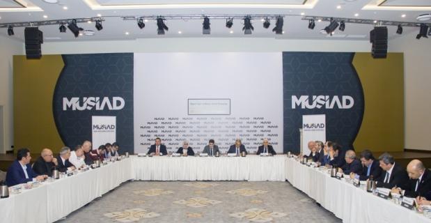 Basım yayın ve medya sektörünün geleceği MÜSİAD'da ele alındı