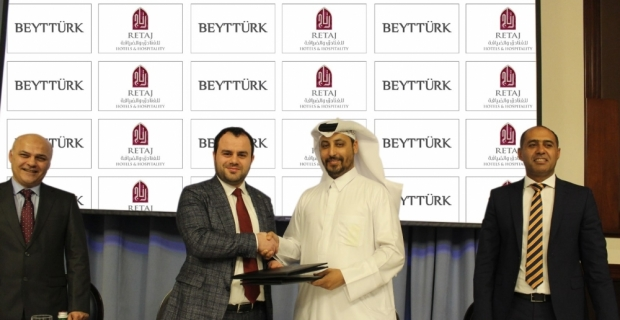 Beyttürk ile Katarlı Retaj arasında dev iş birliği