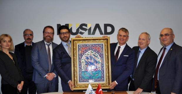 Kanada'nın Ankara Büyükelçisinden MÜSİAD Adana Şubesine ziyaret