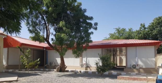 Karmod, Nijerya'da UNDP için ofis binaları kurdu