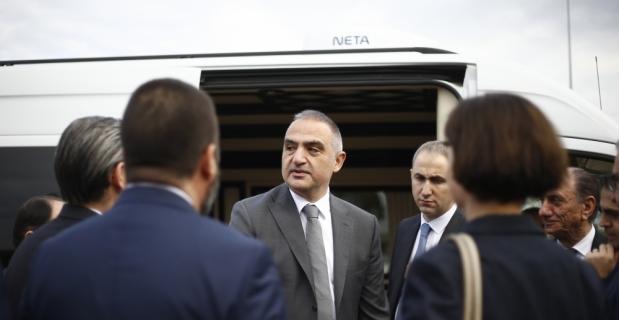 Kültür ve Turizm Bakanı Mehmet Nuri Ersoy Antalya'da