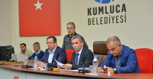 Kumluca Belediye Meclis Toplantısı yapıldı