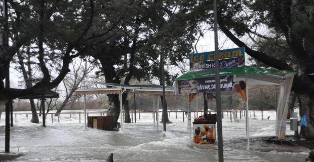 Manavgat Irmağı'nda su seviyesi yükseldi