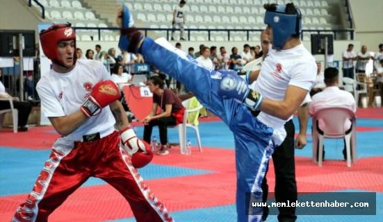 Türkiye Açık Kick Boks Turnuvası Antalya'da tamamlandı