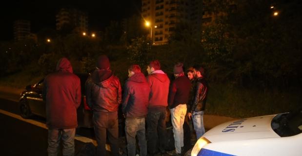 Adana'da 7 düzensiz göçmen yakalandı