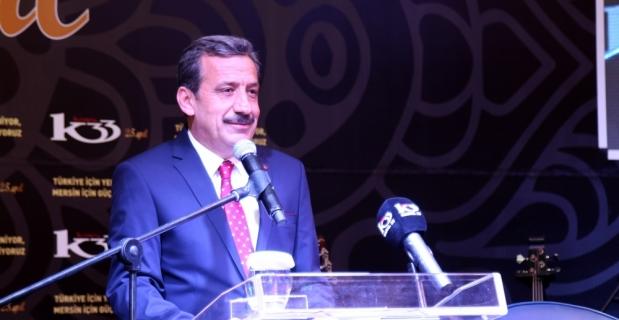 AK Parti Genel Başkan Yardımcısı Elvan Mersin'de