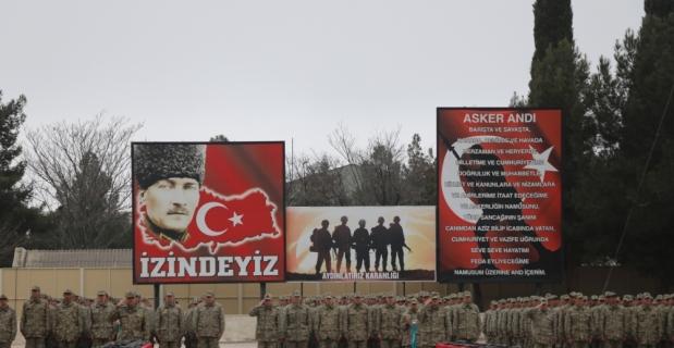 Burdur'da bedelli askerler yemin etti
