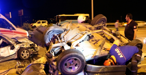 Kahramanmaraş'ta trafik kazası: 2'si ağır 7 yaralı