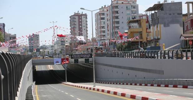Mersin'de Kuvayı Milliye Anıt Katlı Kavşağı açıldı
