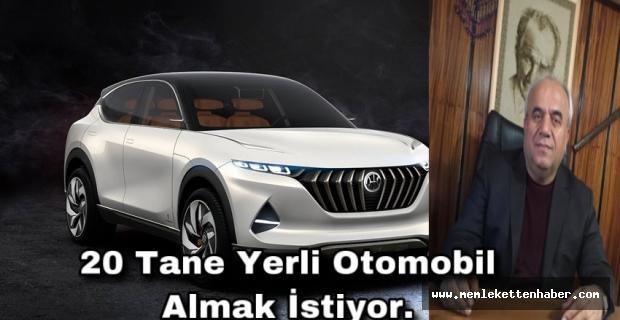 Türkiye'nin ilk yerli üretimi otomobiller için yoğun talep oluştu.