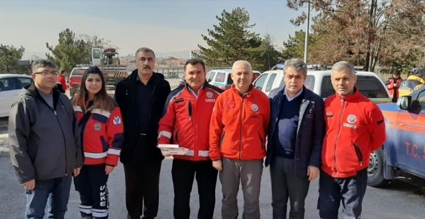Adana Sağlık-Sen yönetimi deprem bölgesinde