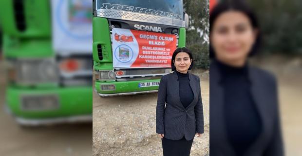 Kiraz ilçesinden deprem bölgesi Elazığ ve Malatya'ya yardım