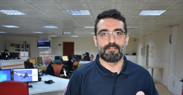 Malatya'da sağlık personeli deprem anında çalışmaya devam etti