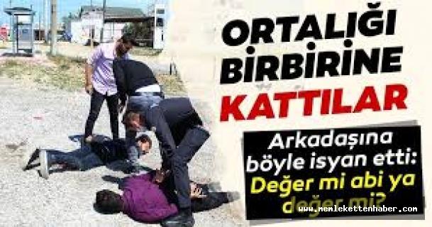 Antalya'da polisi görünce kaçan 2 kişi kovalamaca sonucu yakalandı