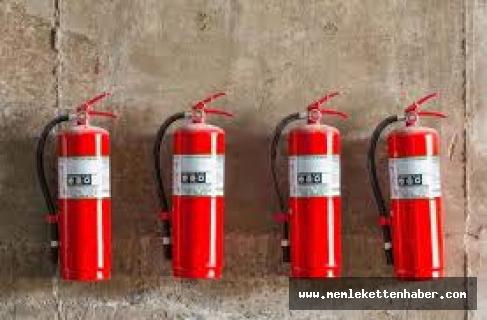 Antalya'da okulların yangın söndürme tüplerini sattığı iddia edilen zanlı tutuklandı