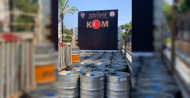 Antalya'da kaçakçılık ve sahte içki operasyonunda 2 zanlı yakalandı