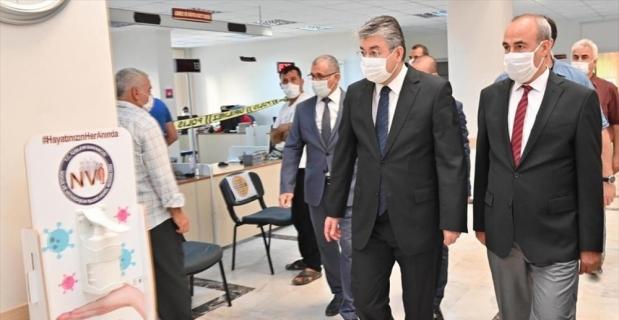 Osmaniye Valisi Yılmaz, kurum müdürlerini ziyaret etti